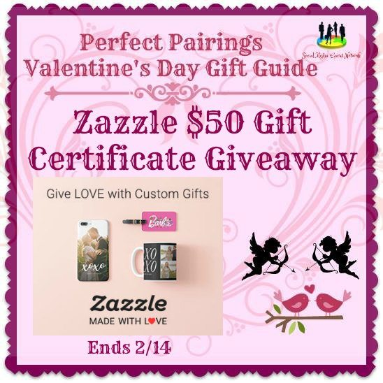 Zazzle $50 Gift Certficate #Giveaway Ends 2/14 #SMGN
