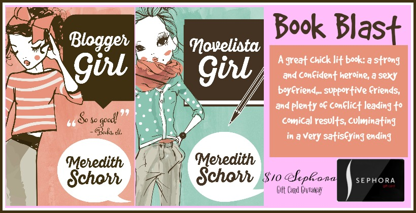 Chick-Lit #BookBlast and $10 Sephora #Giveaway