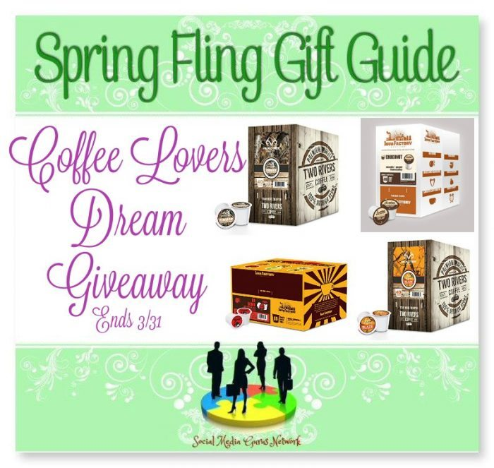 #Coffee Lovers Dream #Giveaway Ends 3/31 #SMGN