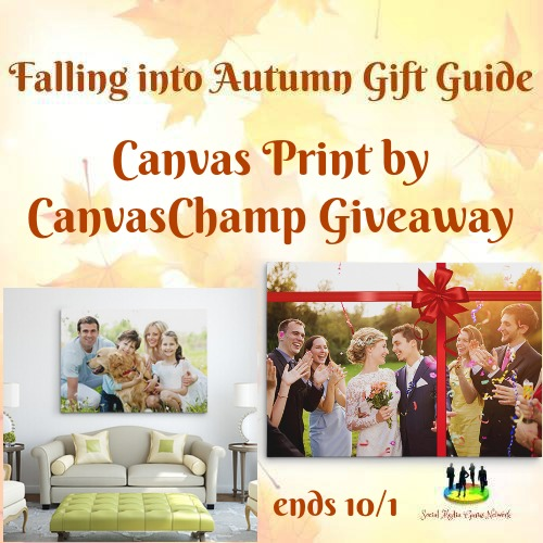 Canvas Print by CanvasChamp #Giveaway Ends 10/1