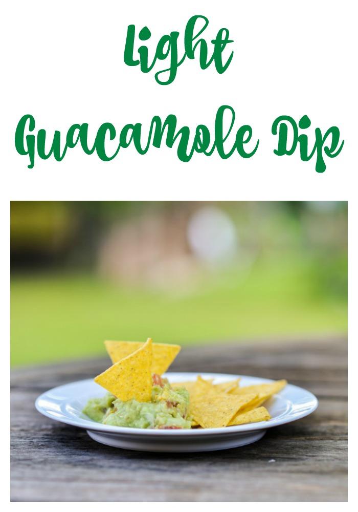 Light Guacamole Recipe