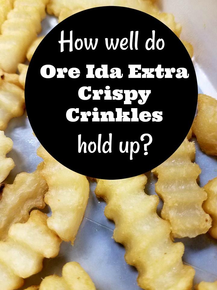 Taste Testing: Ore Ida Extra Crispy Crinkles