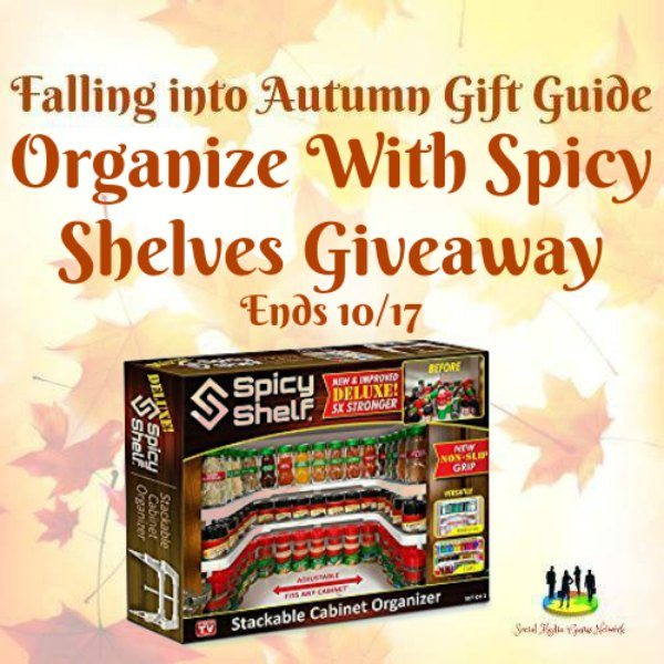 Organize With Spicy Shelves #Giveaway Ends 10/17