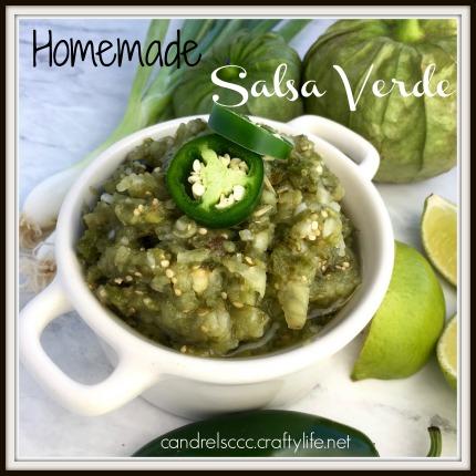 Homemade Salsa Verde Recipe