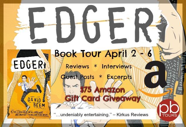 Meet David Beem, author of Edger with $75 Amazon #Giveaway