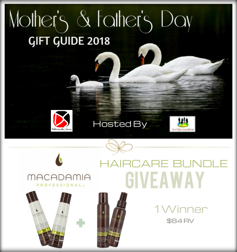 Macadamia Professional Haircare Bundle #Giveaway Ends 5/13 #SMGN