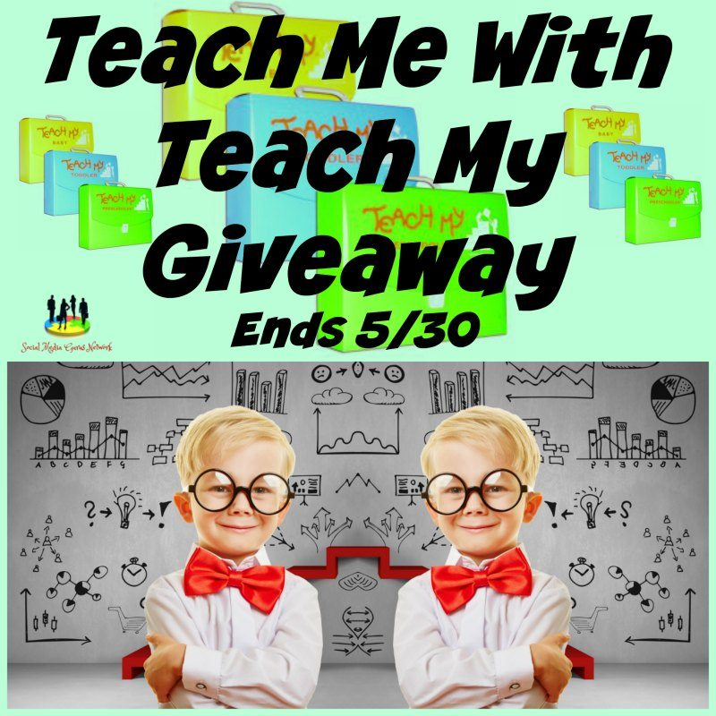 Teach Me With Teach My #Giveaway Ends 5/30