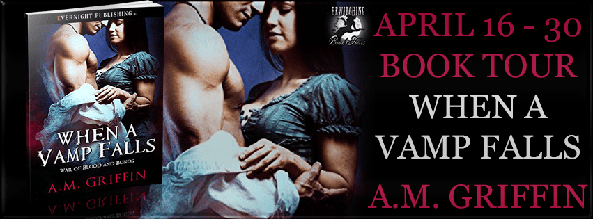 Interview with A.M. Griffin, author of When a Vamp Falls