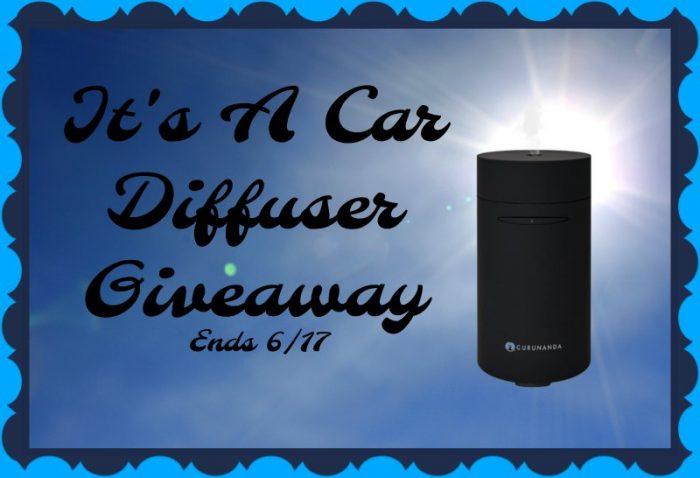 It's a Car Diffuser #Giveaway! Ends 6/17