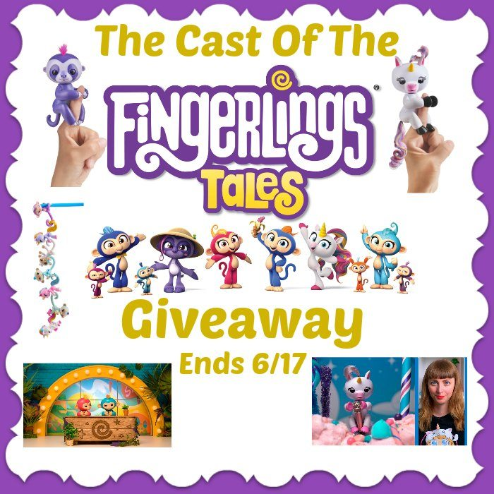 The Cast of the Fingerlings Cast #Giveaway Ends 6/13 #SMGN