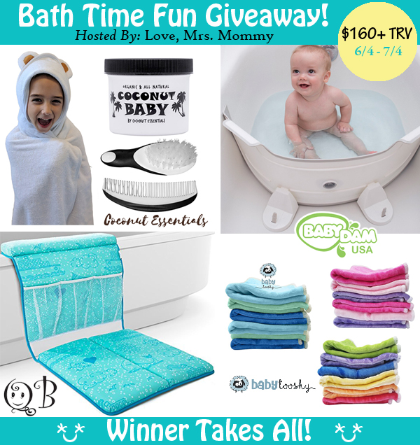 Bath Time Fun #Giveaway with $160+ in Prizes Ends 7/4