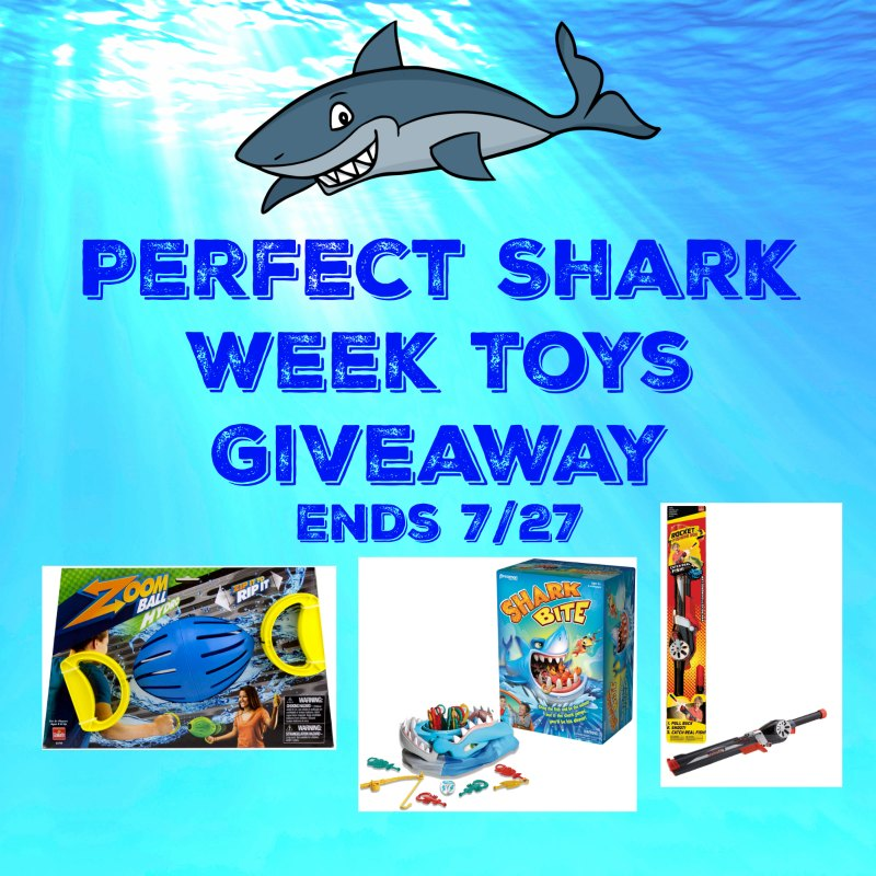 Perfect Shark Week Toys from @GoliathGames US #Giveaway Ends 7/27