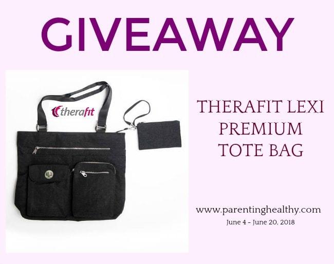 Therafit Lexi Premium Tote Bag #Giveaway Ends 6/20
