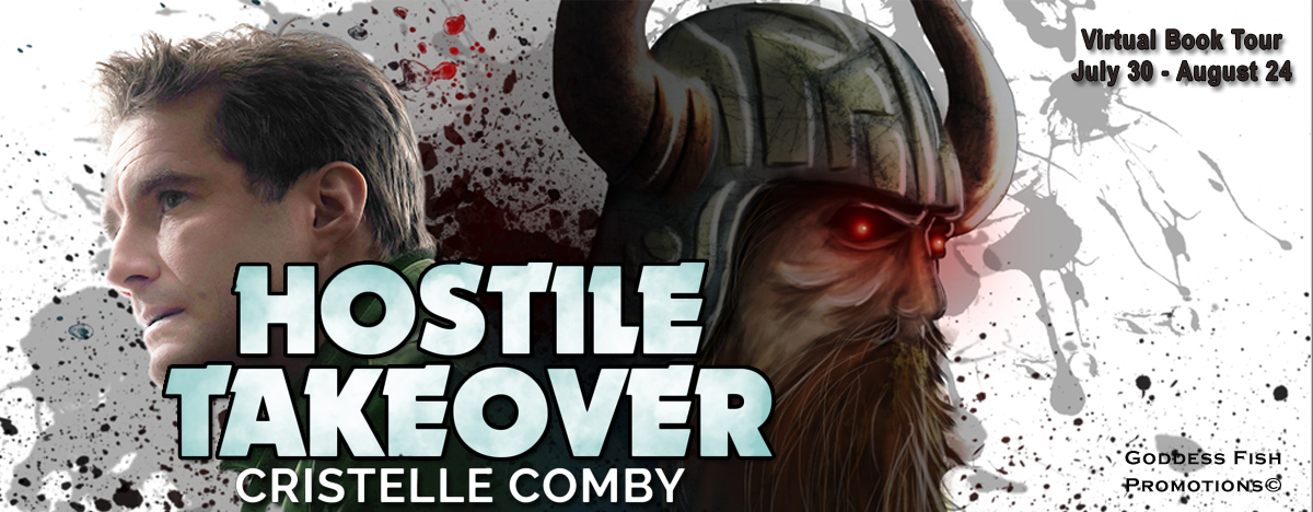 Interview with Cristelle Comby, author of Hostile Takeover with Giveaway