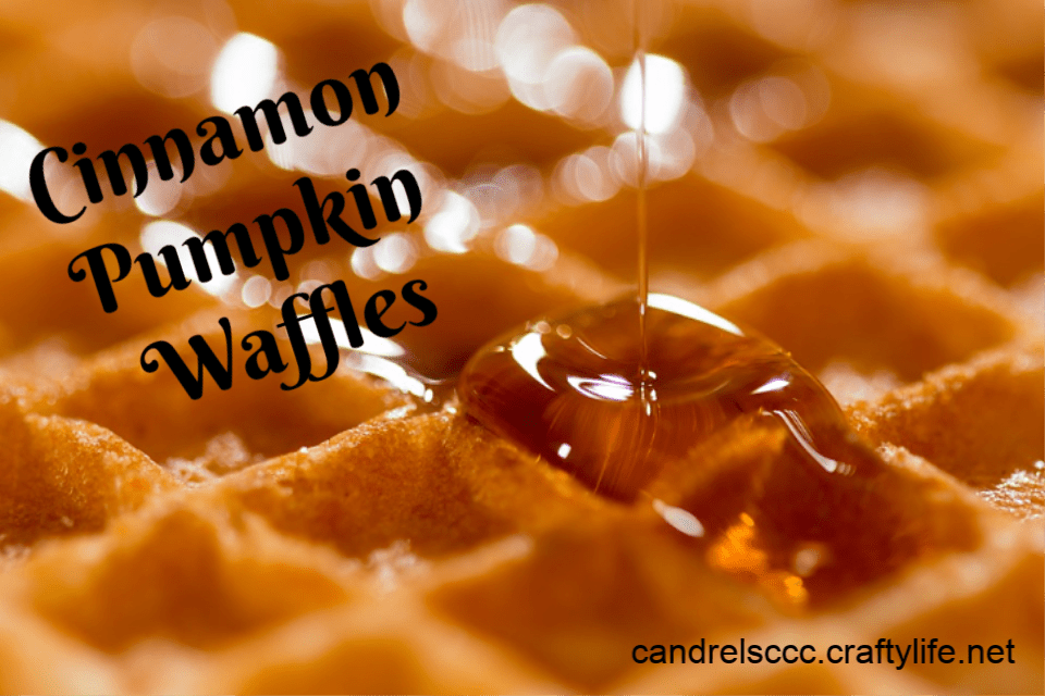 Cinnamon Pumpkin Waffles Recipe