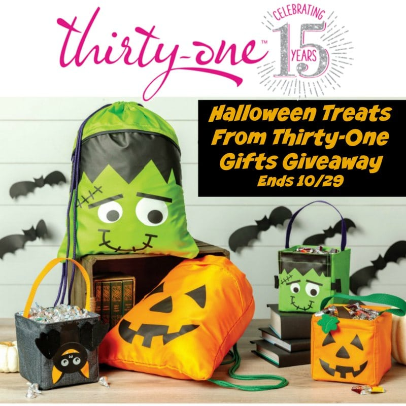 #Halloween Treats from Thirty One Gifts #Giveaway Ends 10/29
