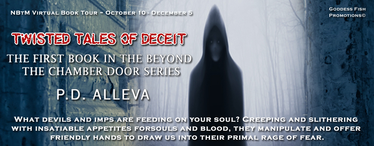 Meet P.D. Alleva, author of Twisted Tales of Deceit with Giveaway