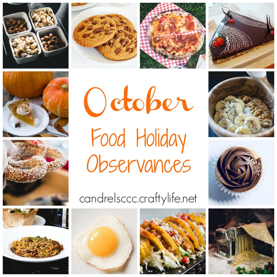 October Food Holiday Observances