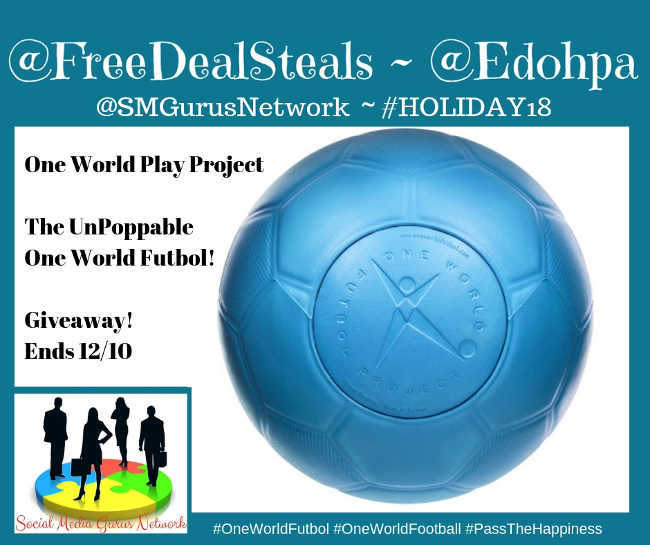 One World Play Project #Giveaway Ends 12/10