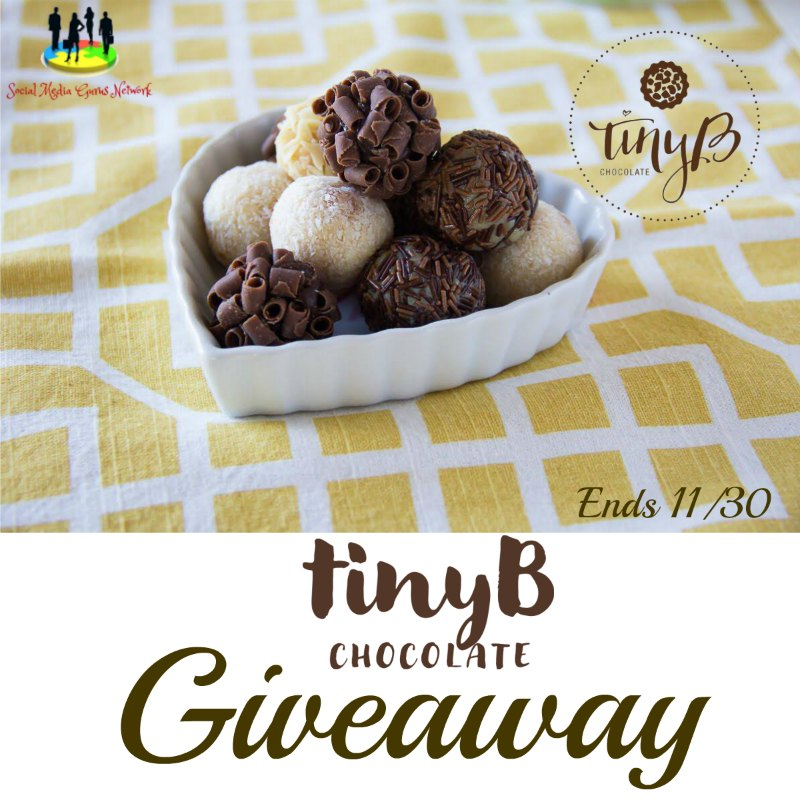 tinyB Chocolate #Giveaway Ends 11/30