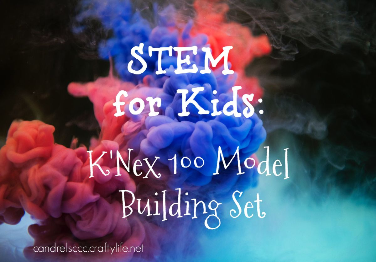 STEM Toys: K'Nex 100 Model Building Set