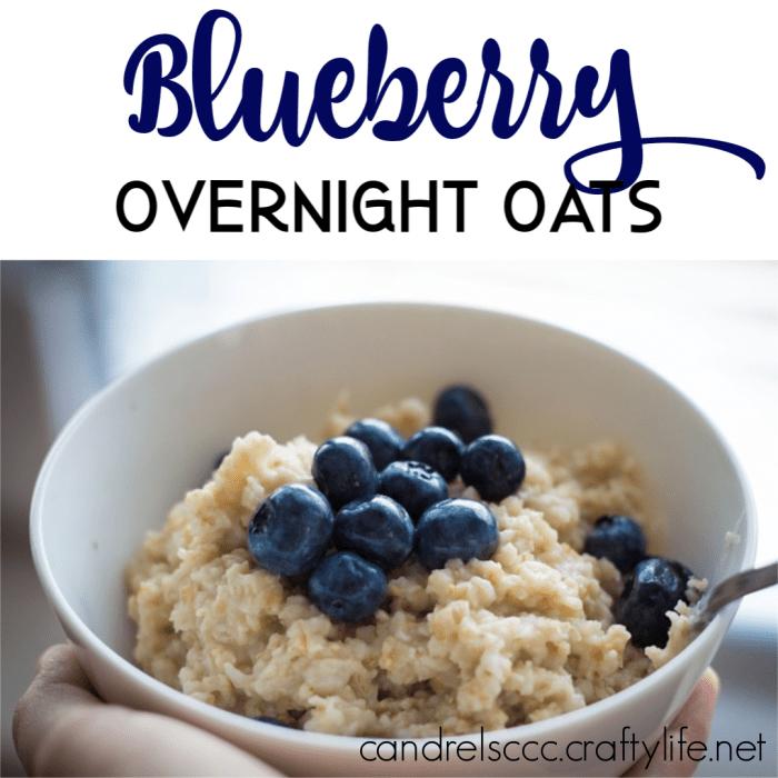 Blueberry Overnight Oats