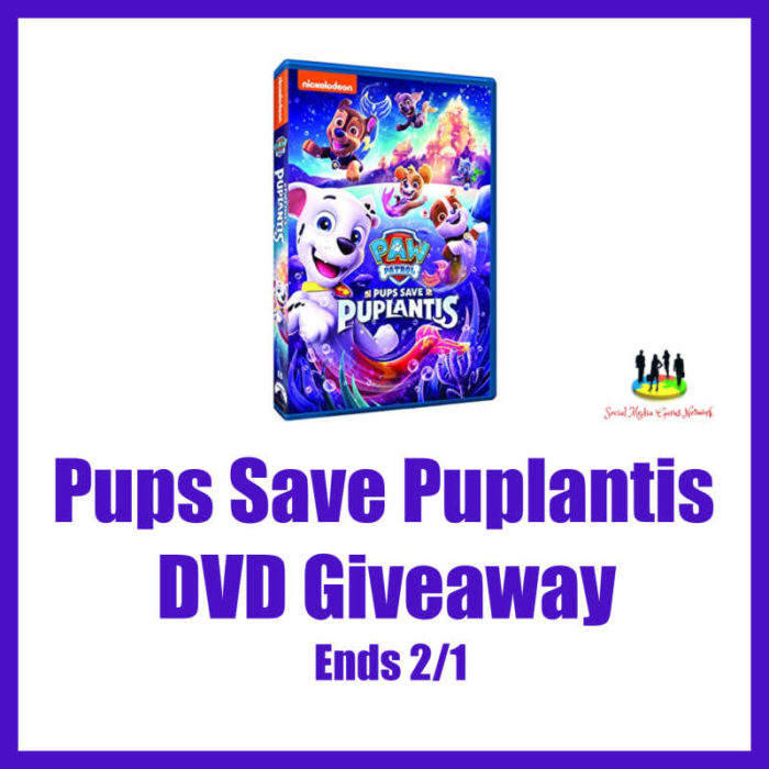 Pups Save Puplantis #Giveaway Ends 2/1