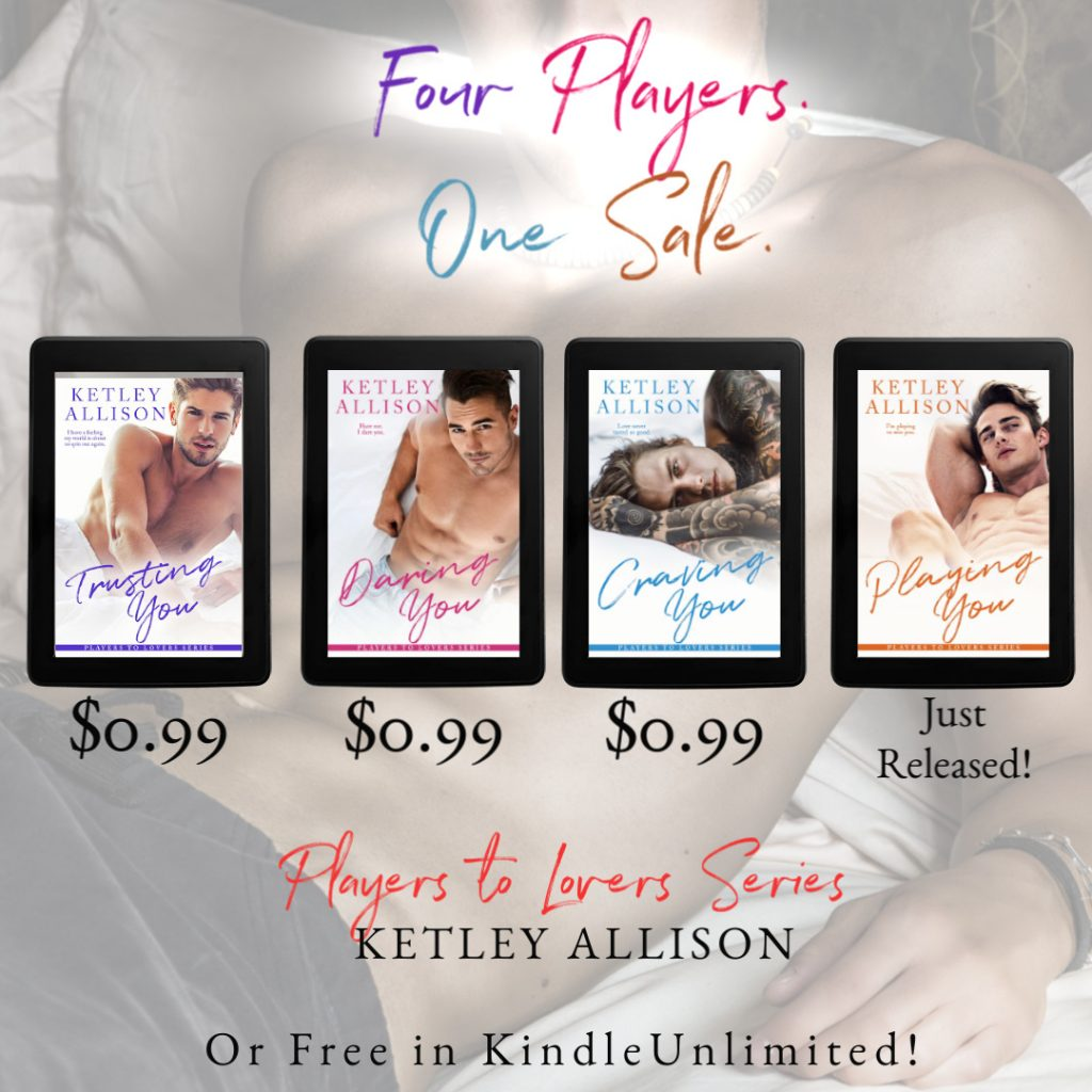 Players to Lovers by Ketley Allison #Sale and #Giveaway