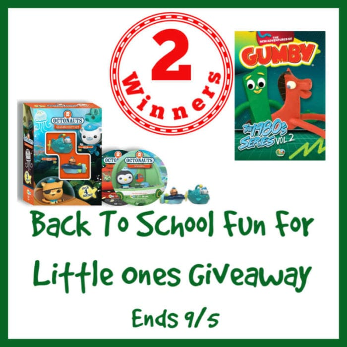 #BackToSchool for Little Ones #Giveaway Ends 9/5 @s8r8l33 @NCircle