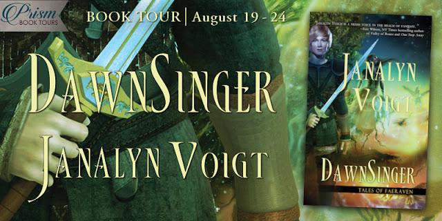 DawnSinger by Janalyn Voight #DSPrismTour Grand Finale