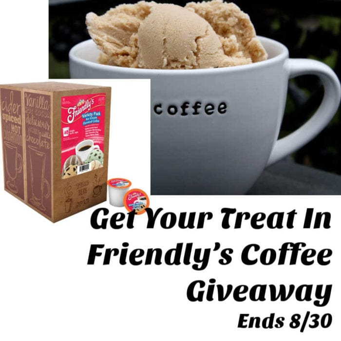 Get Your Treat in Friendly's #Coffee #Giveaway Ends 8/30 @las930 @SMGurusNetwork