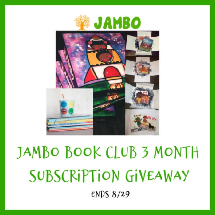 Enter the @jambobooks 3-Month Subscription #Giveaway Ends 8/29 @las930 @SMGurusNetwork