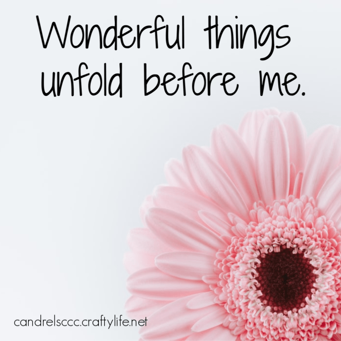 Daily Affirmation March 31