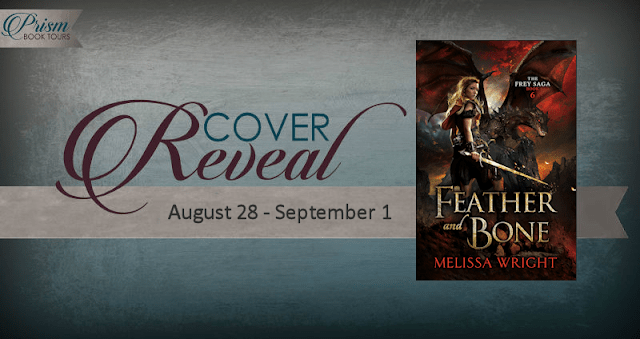 #CoverReveal Feather and Bone by Melissa Wright with #Giveaway #FeathBoneCR