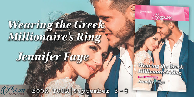 Wearing the Greek Millionaire's Ring by Jennifer Faye #BookTour Grand Finale & #Giveaway