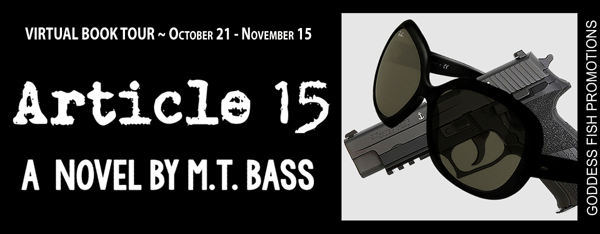 #Interview with M.T. Bass, author of Article 15