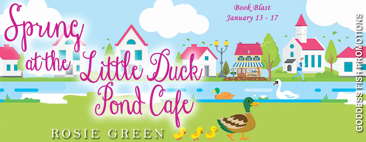 #BookBlast Spring at the Little Duck Pond Cafe by Rosie Green with #Giveaway