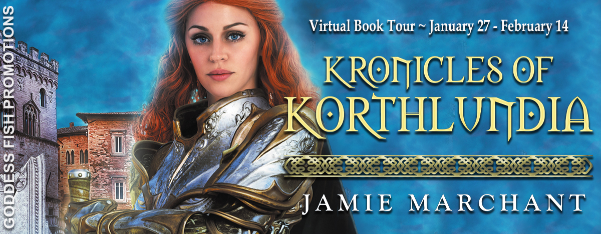 #Interview with Jamie Marchant author of Kronicles of Korthlundia