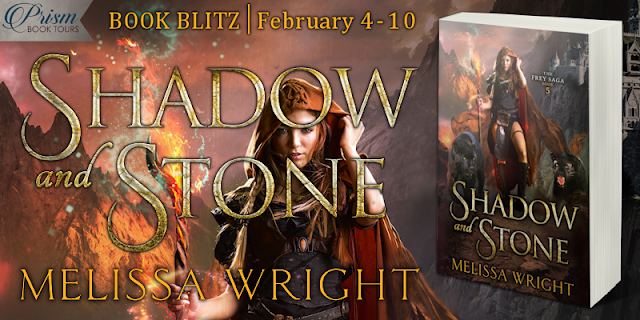 Shadow and Stone by Melissa Wright #Sale and #Giveaway