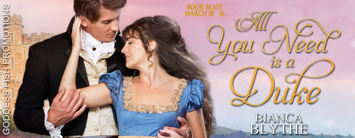 #BookBlast All You Need is a Duke by with #Giveaway