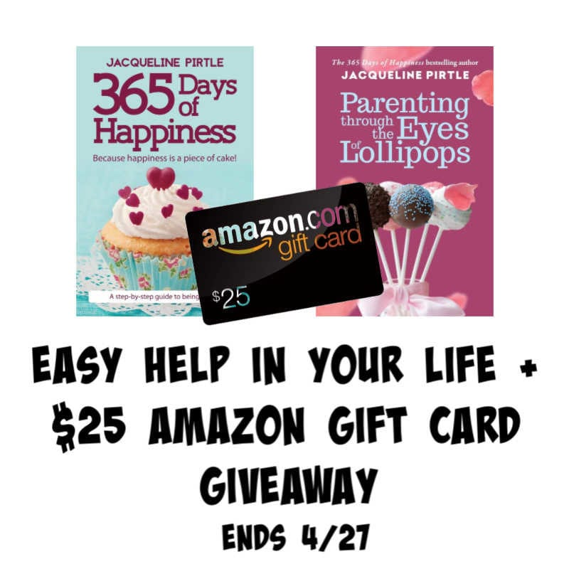 Easy Help in Your Life + $25 Amazon GC #Giveaway Ends 4/27 @FreakyHealer @las930