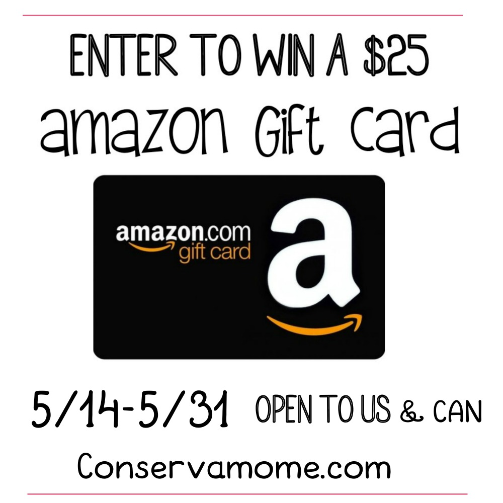 $25 Amazon Gift Card #Giveaway Ends 5/31