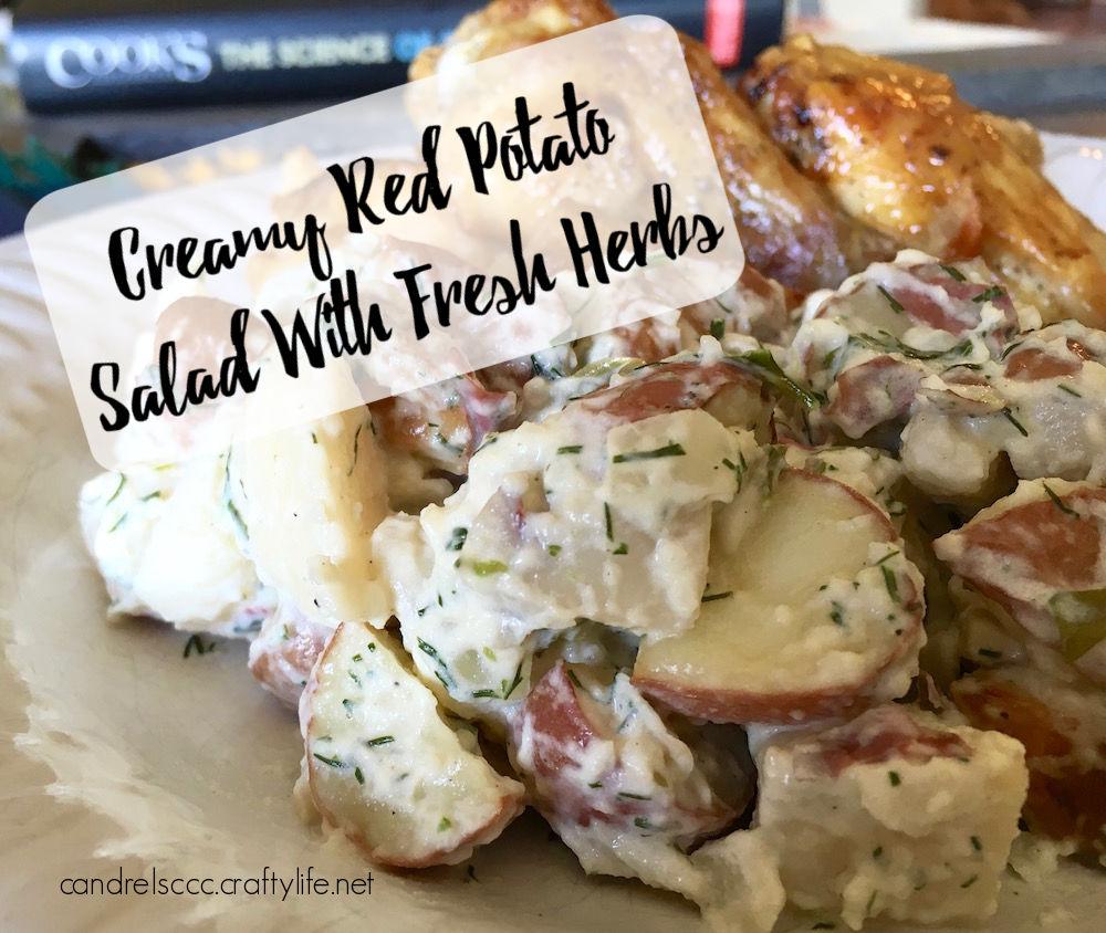 Creamy Red Potato Salad With Fresh Herbs