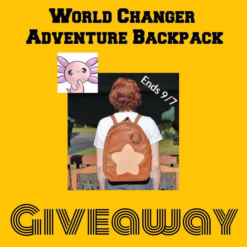 World Changer Backpack #Giveaway Ends 9/7 @las930