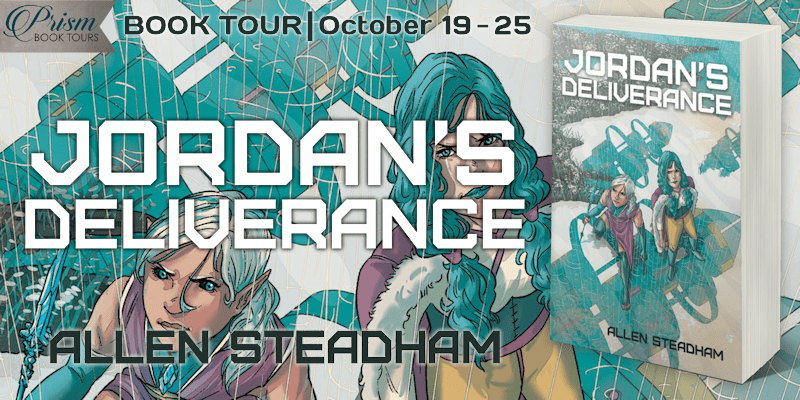 #Interview with Allen Steadham, author of Jordan's Deliverance with #Giveaway #JDPrism