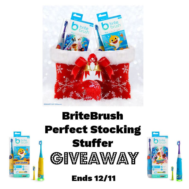 BriteBrush Perfect Stocking Stuffer #Giveaway 2 Winners Ends 12/11 @las930