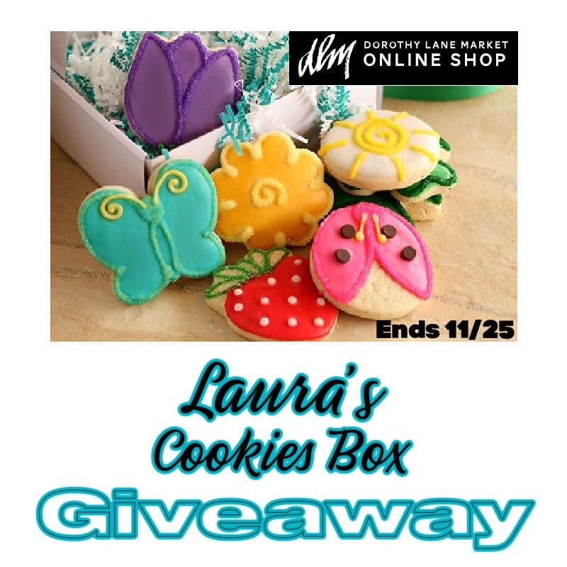 Laura's Cookies Box #Giveaway Ends 11/25 @DorothyLaneMkt @las930