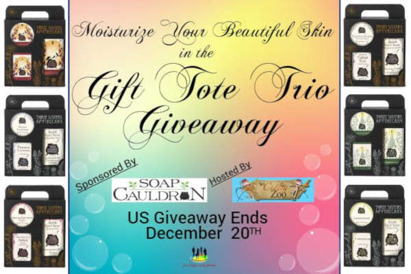 Moisturize Your Beautiful Skin in the Gift Tote Trio #Giveaway Ends 12/20