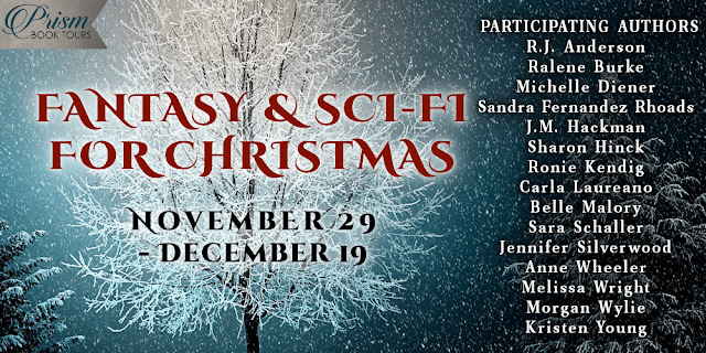 Fantasy & Sci-Fi For Christmas Book Tour & #Giveaway Launch #FantasyForChristmas20