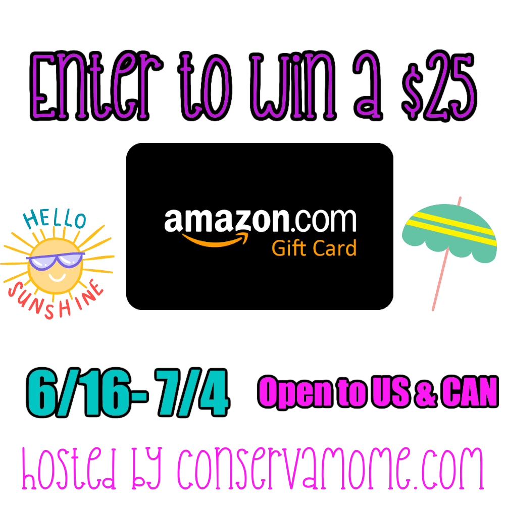 June 2021 $25 Amazon Gift Card #Giveaway Ends 7/4